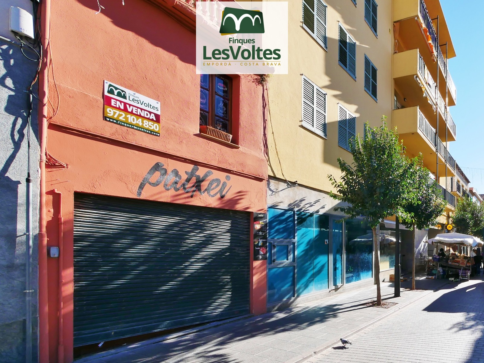 COMMERCIAL FINCA IN PRIVILEGED LOCATION IN THE FULL PEDESTRIAN CENTER OF PALAFRUGELL WITH MANY POSSIBILITIES.