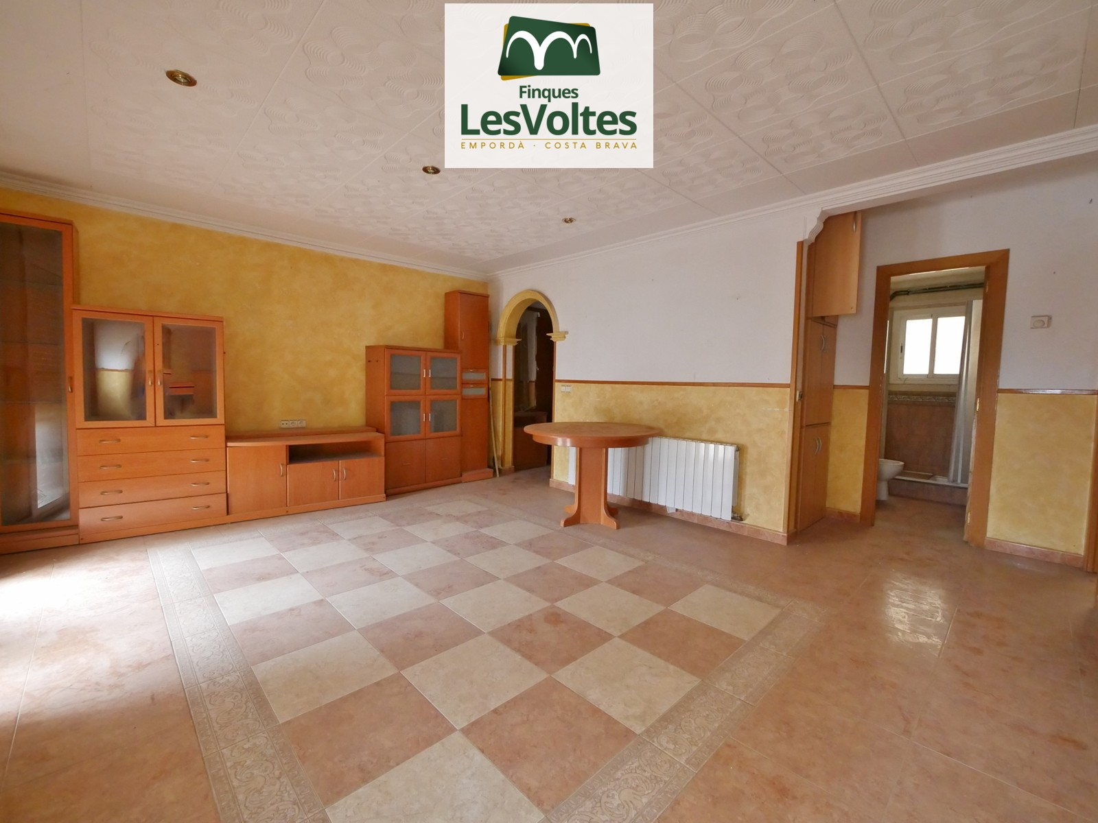 FLAT OF 70 M2 IN SECOND FLOOR WITH 2 BEDROOMS FOR SALE IN ULLÀ.