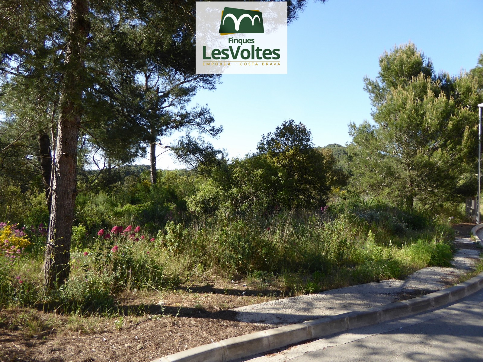 MAGNIFICENT RESIDENTIAL PLOT FOR SALE IN BEGUR 1080 M2 WITH ALL SERVICES. OPPORTUNITY