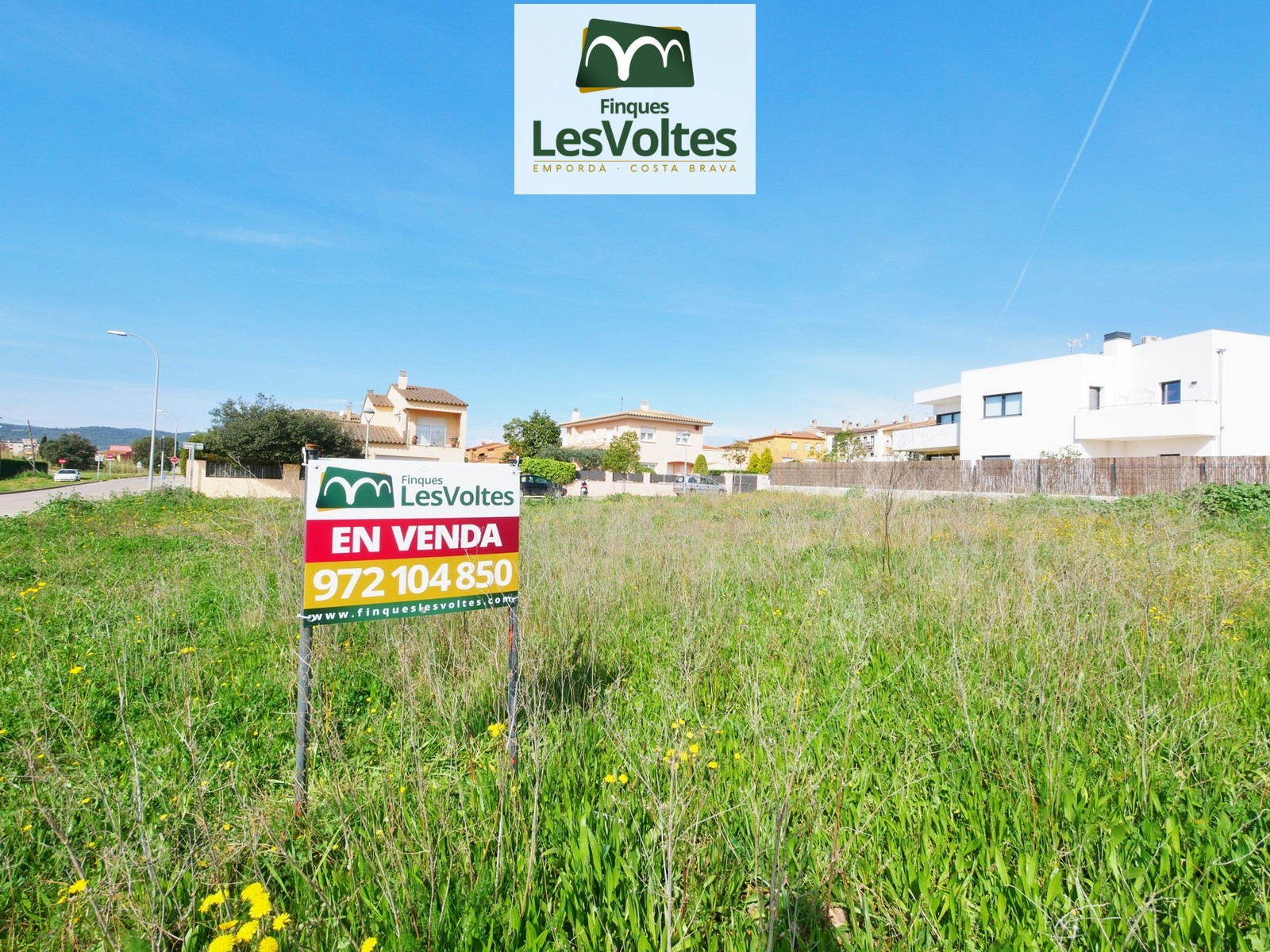 PLOTS FROM 450m2 FOR SALE IN PALAFRUGELL. BRUGUEROL AREA