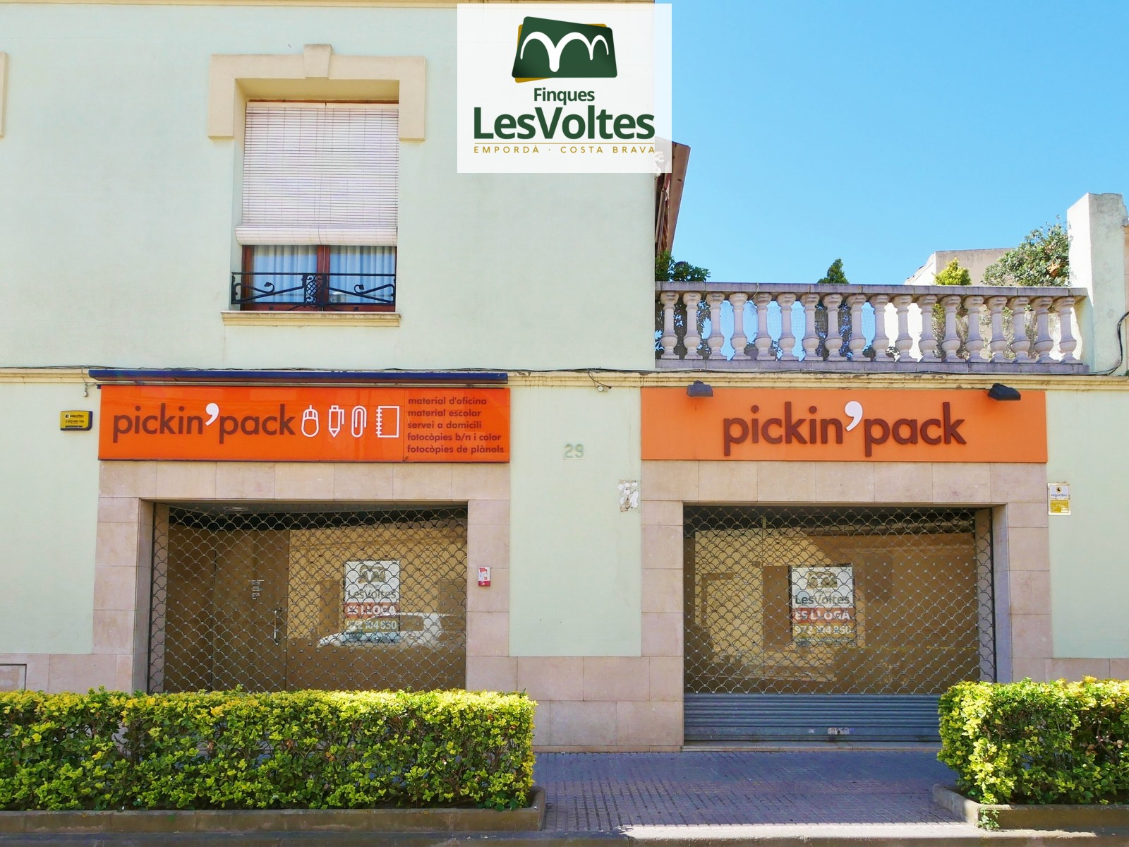 MAGNIFICENT COMMERCIAL LOCAL WITH GREAT SHOWCASE FOR RENT IN THE CENTER OF PALAFRUGELL.