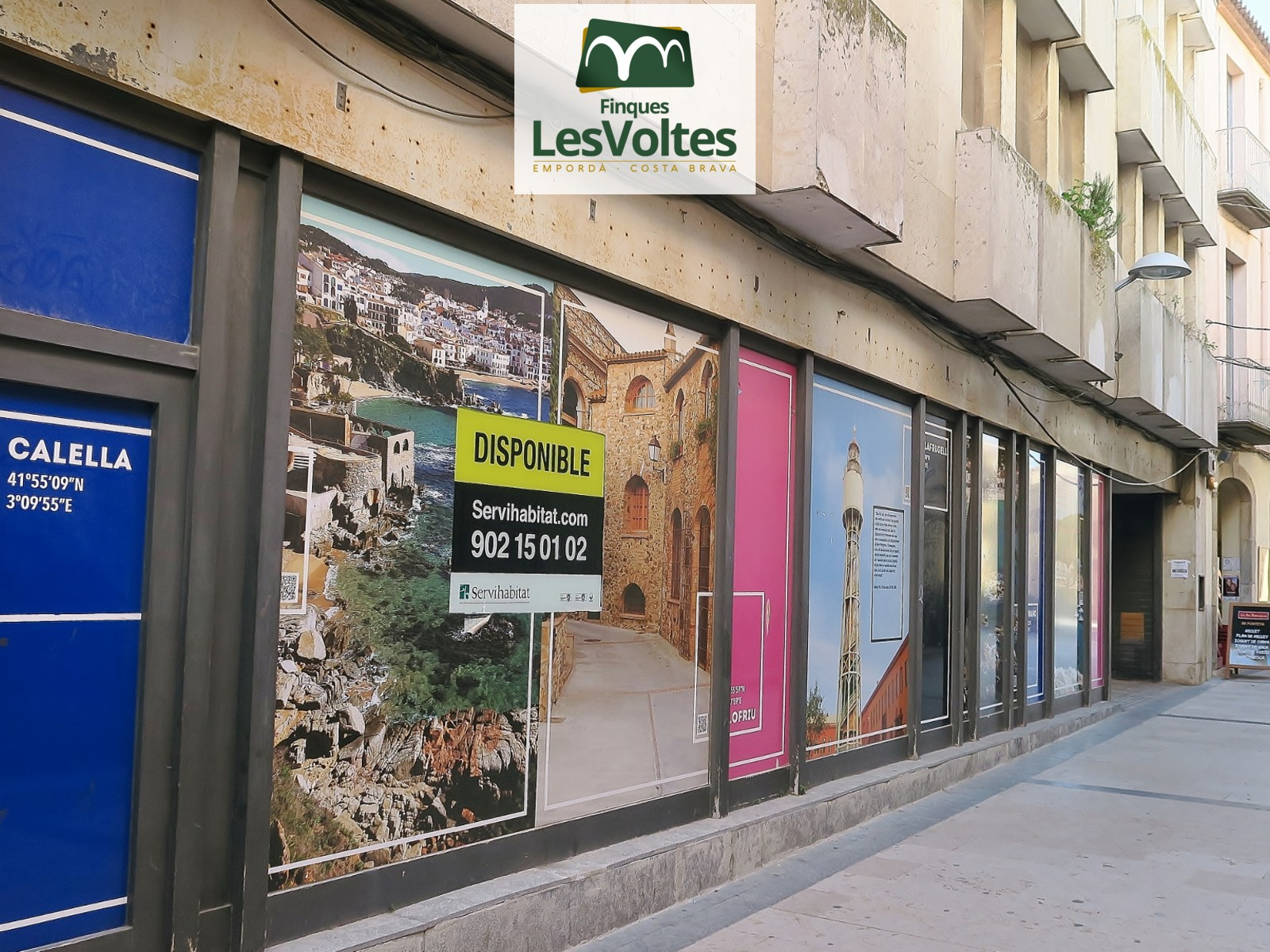 COMMERCIAL PREMISES 173 M2 WITH GREAT SHOWCASE IN THE PEDESTRIAN CENTER OF PALAFRUGELL.
