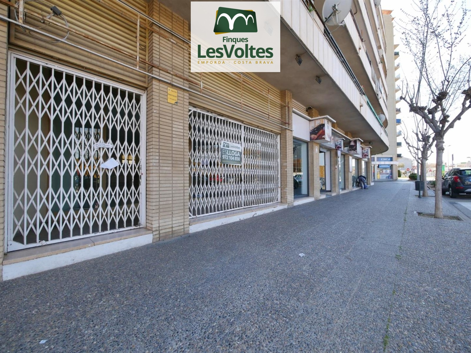 Great commercial space for rent in Palafrugell.