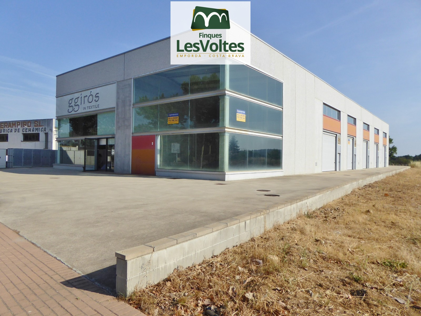 Nave Industrial en alquiler en Forallac de 830 m2